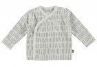 Babylook T-Shirt Overslag Stripe Snow White