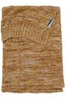 Meyco Ledikantdeken Block Mixed Oker/Camel  100 x 150 cm