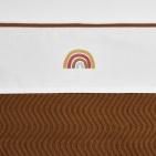 Meyco Ledikantlaken Rainbow Camel  100 x 150 cm