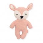 Jollein Knuffel Deer Pale Pink 21 Cm