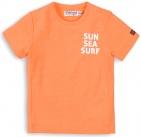 Dirkje T-Shirt Korte Mouw Sun Sea Surf Orange