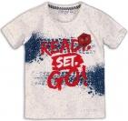 Dirkje T-Shirt Korte Mouw Ready White Melee