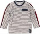 Dirkje T-Shirt Stripes Navy White