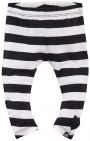 Z8 Legging Milan Black White Stripe
