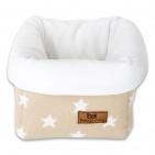 Meer info over Baby's Only Mandje Star Beige