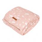 Little Dutch Wiegdeken Ocean Pink  70 x 100 cm