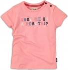 Koko Noko T-Shirt Korte Mouw Road Trip Pink