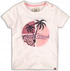 Koko Noko T-Shirt Korte Mouw Palm White