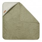 Little Dutch Badcape Sunrise Olive  75 x 75 cm