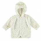 Babylook Vest Velours Snow White