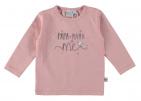 Babylook T-Shirt Papa Mama Silver Pink