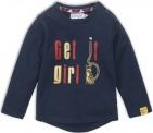 Dirkje T-Shirt Get It Girl Navy
