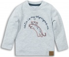 Dirkje T-Shirt Tiger Grey Melange