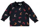 Babylook T-Shirt Ruffle Cheetah Total Eclipse