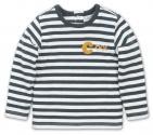 Dirkje T-Shirt Stripe Green / Offwhite