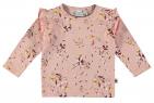 Babylook T-Shirt Wildflower Silver Pink