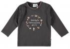 Babylook T-Shirt Daddy's Girl Asphalt