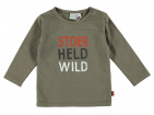 Babylook T-Shirt Stoer Held Wild Dusty Olive