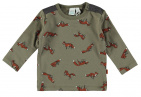 Babylook T-Shirt Fox Dusty Olive