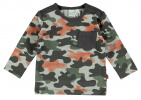 Babylook T-Shirt Army Grey Melee