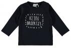 Babylook T-Shirt Klein Broertje Total Eclipse