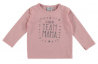 Babylook T-Shirt Team Mama Silver Pink