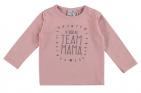 Babylook T-Shirt Team Mama Silver Pink