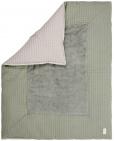 Koeka Boxkleed Wafel Amsterdam Shadow Green/Misty Grey   75 x 95cm
