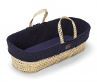 Snuz Natural Knitted Moses Midnight