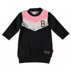 BESS Sweatjurk Colorblock Anthracite