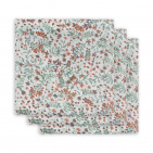 Jollein Hydrofiele Multidoek Small 70x70 Bloom 3pck