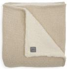 Jollein Wiegdeken Teddy Bliss Knit Nougat 75 x 100 cm