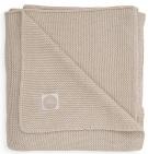 Jollein Wiegdeken Basic Knit Nougat 75 x 100 cm