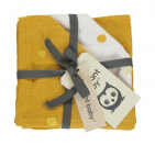 Briljant Monddoek Sunny Ocher 3-Pack