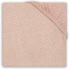 Jollein Hoeslaken Boxmatras Jersey Snake Pale Pink 75 x 95 cm