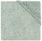 Jollein Hoeslaken Boxmatras Jersey Snake Ash Green 75 x 95 cm