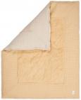 Koeka Boxkleed Wafel Amsterdam Sahara/Sand  75 x 95 cm