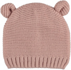 Sarlini Muts Knit Oortjes Light Pink