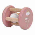 Little Dutch Houten Rammelaar Roller Flower