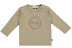 Babylook T-Shirt Kleintje Silver Mink