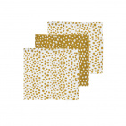 Meyco Monddoek Cheetah Honey Gold 3-Pack