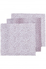 Meyco Luier Snake / Cheetah Lilac 70x70cm 3-Pack