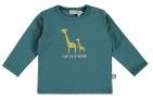 Babylook T-Shirt Like Daddy Mallard Blue