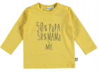 Babylook T-Shirt 50% Misted Yellow