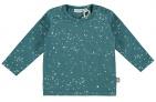 Babylook T-Shirt Speckle Mallard Blue