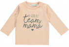 Babylook T-Shirt Team Mama Evening Sand