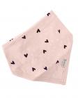 BESS Bandana Hearts Pink