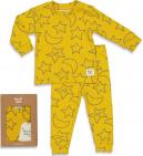Feetje Pyjama Star Skylar Okergeel