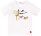 Dirkje T-Shirt Korte Mouw Parade White