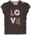 Dirkje T-Shirt Korte Mouw Love Smokey Grey